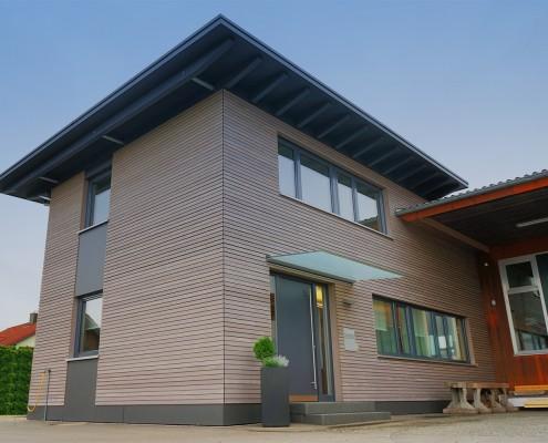Fassadengestaltung – Holzbau-Hepp